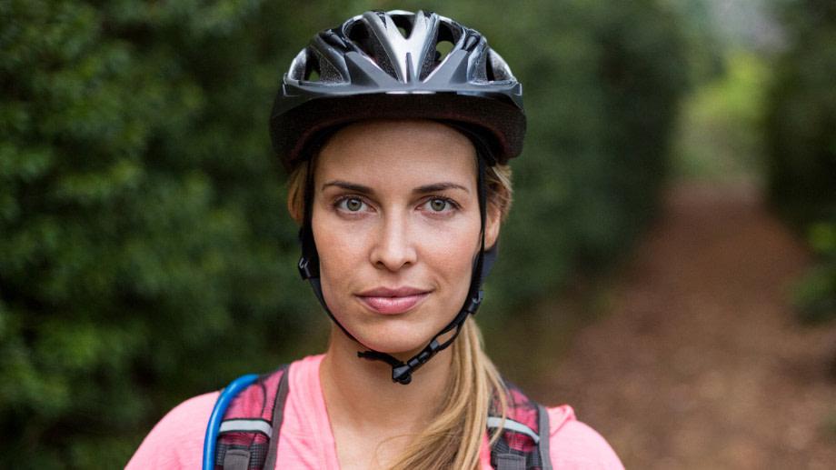 Kask rowerowy obraz 1